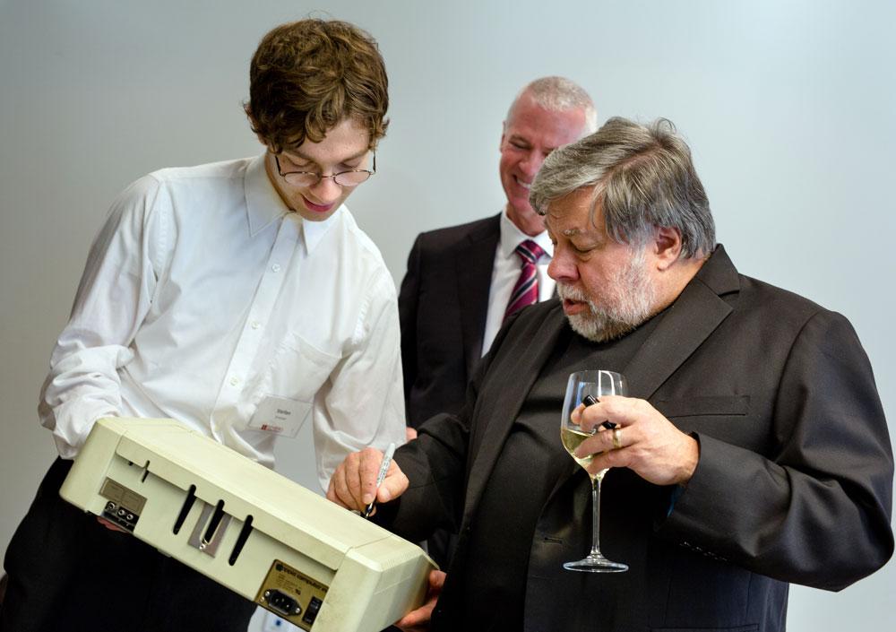 Steve Wozniak Isenberg speaker series
