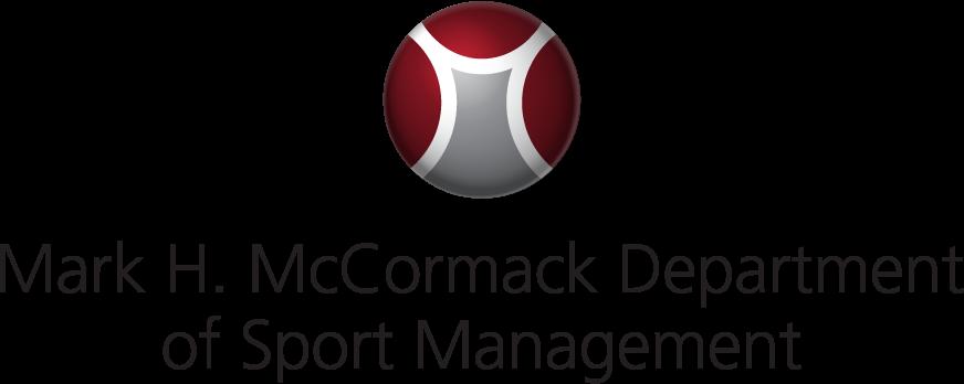 McCormack Dept of Sport Management Logo