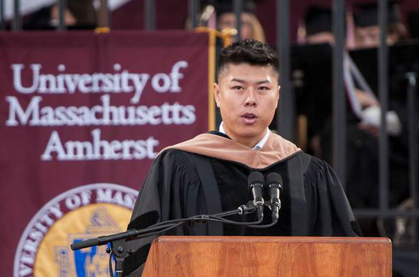 wayne chang umass commencement